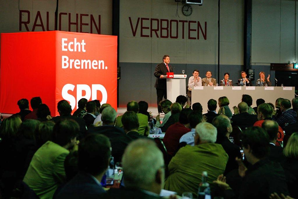 BLG-Forum, SPD-Parteitag, © SPD Bremen