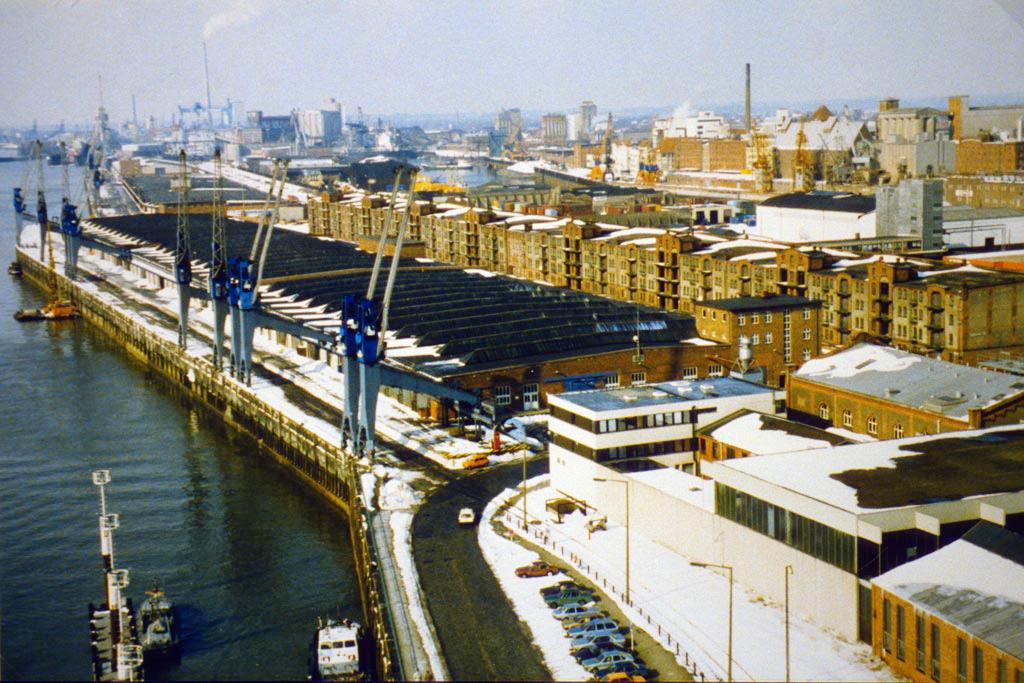 Bremer Überseehafen und Speicher XI