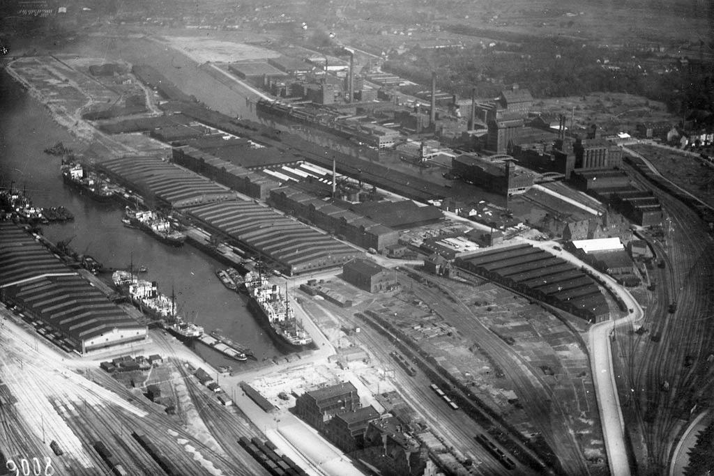 Überseehafen, Vom Kopf Hafen II © Staatsarchiv Bremen