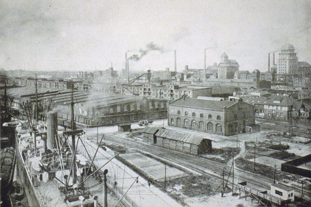 Bremer Überseehafen, Maschinenhaus